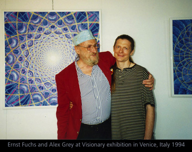 Ernst Fuchs and I